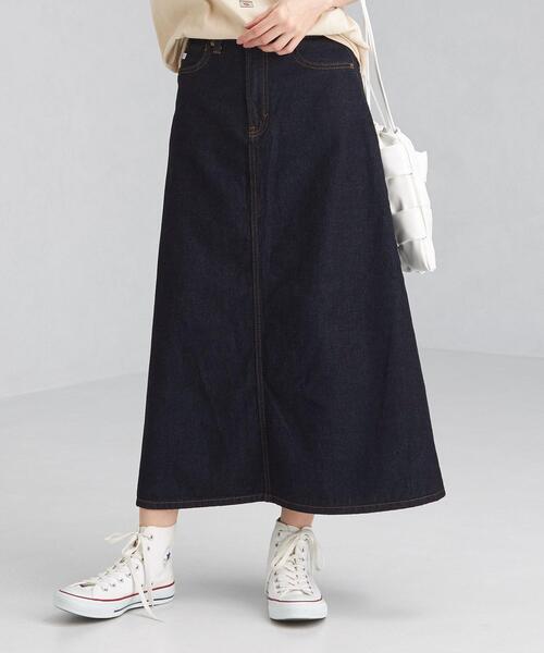 【別注】<SOMETHING(サムシング)> デニム フレア スカート