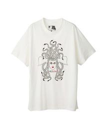 NIAGARA/SNAKE HEAD オーバーサイズTシャツホワイト