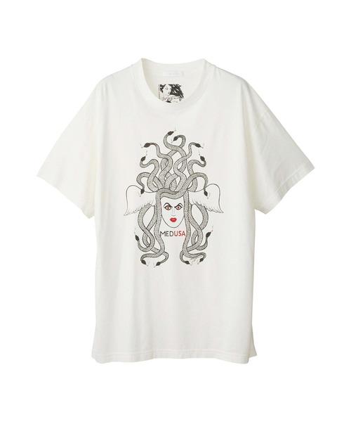 NIAGARA/SNAKE HEAD オーバーサイズTシャツ