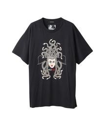 NIAGARA/SNAKE HEAD オーバーサイズTシャツブラック