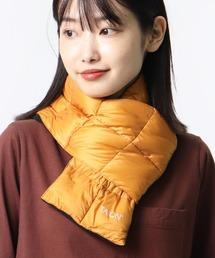 【 TAION / タイオン 】ベーシック ダウンマフラー DON TAION2012ダークオレンジ