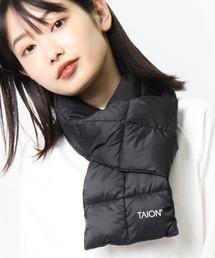 【 TAION / タイオン 】ベーシック ダウンマフラー DON TAION2012ブラック