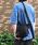 DECADE(ディケイド)の「オイルドカウレザー・ミニショルダー DECADE(No-00959) Oiled Cow Leather Mini Shoulder Bag ディケイド(ショルダーバッグ)」|ブラック