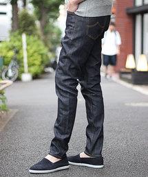 RATTLE TRAP(ラトルトラップ)の【BOBSONボブソン×RATTLE TRAP】別注rigid jeans (スキニータイプ)<all japan made>(デニムパンツ)