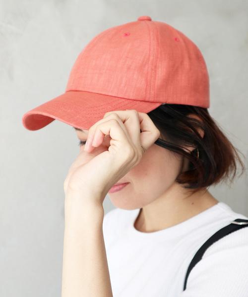∴ フレンチリネンキャップ / CAP