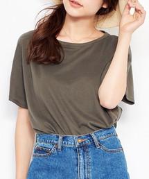 MAISON DE REEFUR(メゾンドリーファー)のビッグ Tシャツ(Tシャツ/カットソー)