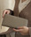 Ungrid(アングリッド)の「【Ungrid/アングリッド】 【牛革】  牛革ラウンドZIP長財布(財布)」|ベージュ系その他