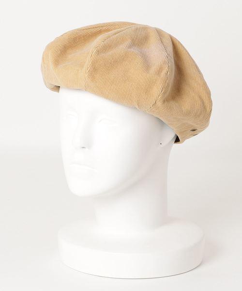 ∴ ST:Lt CORDUROY BERET コーデュロイベレー帽