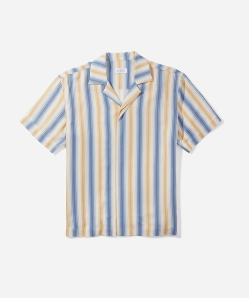 Saturdays NYC(サタデーズ ニューヨークシティ )の「York New Camp Collar SS Shirt(シャツ/ブラウス)」 ブルー
