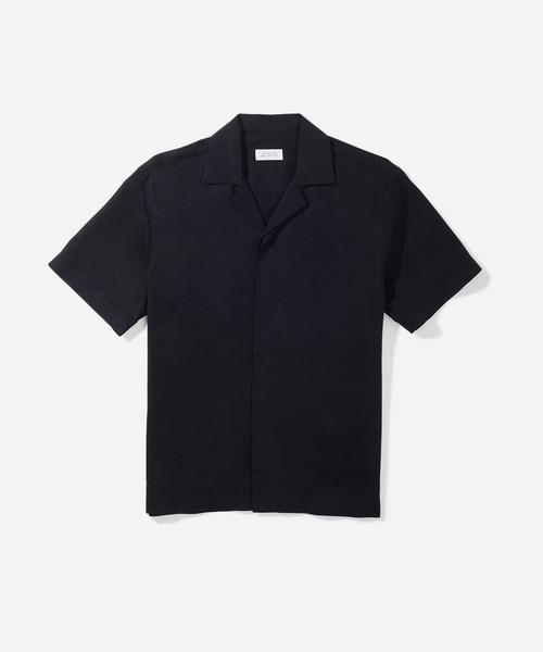 Saturdays NYC(サタデーズ ニューヨークシティ )の「York New Camp Collar SS Shirt(シャツ/ブラウス)」 ブラック