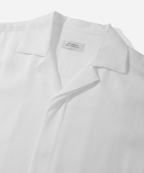 Saturdays NYC(サタデーズ ニューヨークシティ )の「York New Camp Collar SS Shirt(シャツ/ブラウス)」 詳細画像
