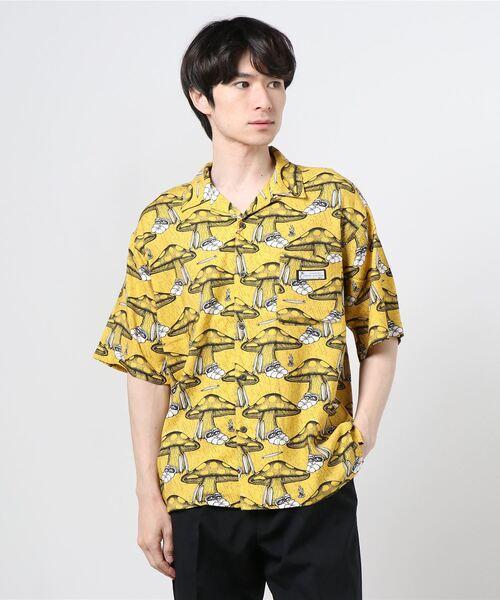 【 JONAS CLAESSON / ジョナス・クレアッソン 】SLOTHINGアロハシャツ/オープンカラーシャツ/半袖シャツ NSB