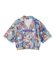 FLOWER GIRL柄 ショートシャツその他2