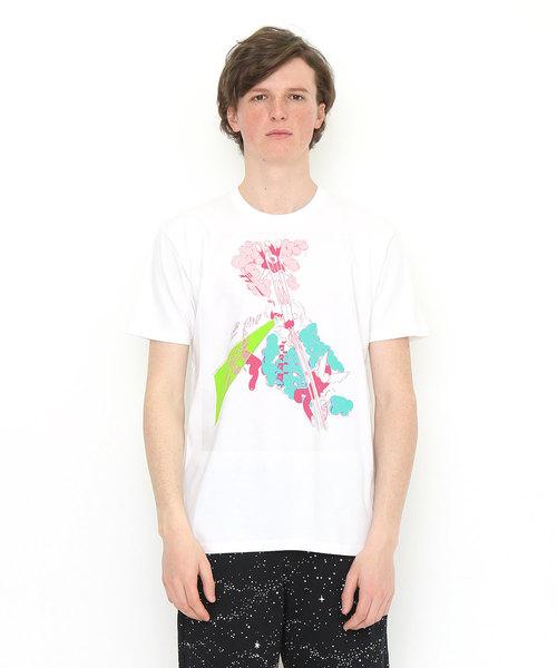 graniph(グラニフ)の「コラボレーションTシャツ/手塚治虫(マシンガンアトム)(Tシャツ/カットソー)」|ホワイト