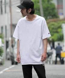 Champion(チャンピオン)の【champion】チャンピオン 無地 半袖Tシャツ(Tシャツ/カットソー)