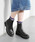 EVOL(イーボル)の「NYLON掲載商品*軽量・履き心地◎【EVOL】PURPOSE サイドゴアブーツ LL40055(ブーツ)」|ブラック系その他