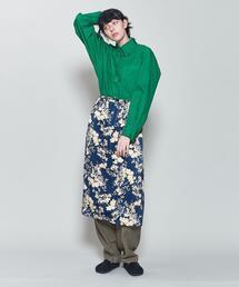 <6(ROKU)>COTTON BIG SHIRT/シャツ