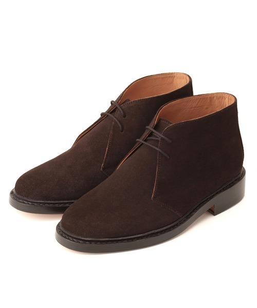 驚きの値段 【セール】London Shoe Make/ロンドンシューメイク グッドイヤーウェルト製法オールレザー shoes スウェードチャッカブーツ(ブーツ)|London Shoe Shoe Make(ロンドンシューメイク)のファッション通販, ophelia:442cb947 --- gnadenfels.de