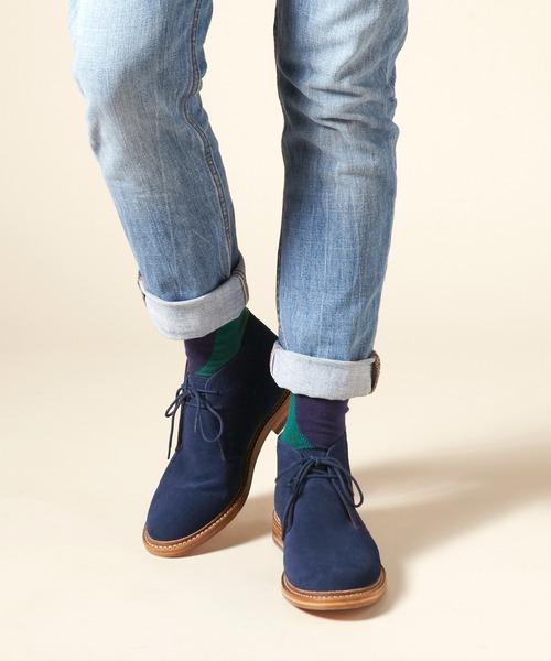 【超お買い得!】 【セール】London Shoe Make/ロンドンシューメイク Shoe グッドイヤーウェルト製法オールレザー shoes Shoe スウェードチャッカブーツ(ブーツ) London Shoe Make(ロンドンシューメイク)のファッション通販, 家具インテリア雑貨 カグール:31db5ada --- withdraw.getarkin.de