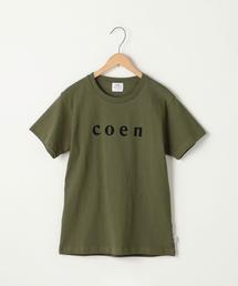 【WOMENS】coen(コーエン)ロゴTシャツ