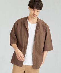 SC IND エンブロストライプ 半袖 / シャツ