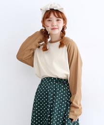 merlot(メルロー)の[mer企画限定/やままいさんセレクト]ラグランTシャツ0916(Tシャツ/カットソー)