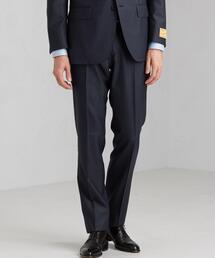 CLASSICAL SPINNER シャークスキン スリム ノープリーツ スーツパンツ スラックス