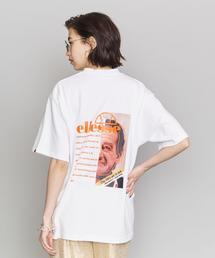 <ellesse>バックプリントTシャツ