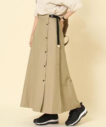 撥水KELTY(ケルティ)ラップスカート#(ロングスカート/フレアスカート)