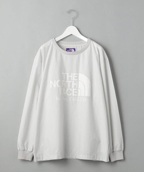 【別注】 <THE NORTH FACE PURPLE LABEL>L/S CREW NECK/カットソー