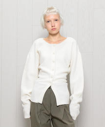 <LEMAIRE>FITTED CARDIGAN/カーディガン
