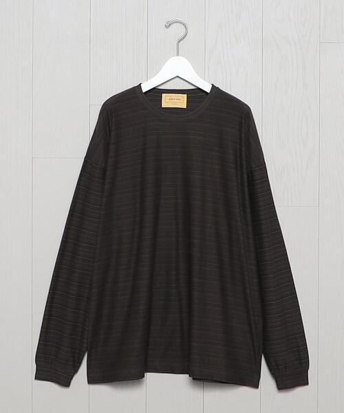 <SEVEN BY SEVEN>BORDER LONG SLEEVE T-SHIRT/Tシャツ.