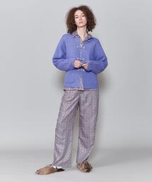 <6(ROKU)>SQUARE LINE PANTS/パンツ