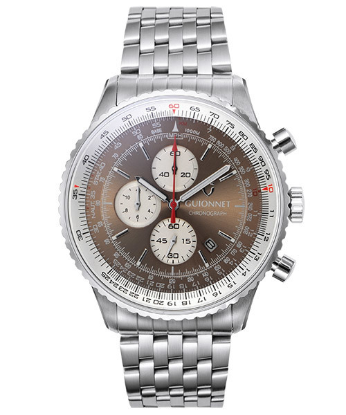 2019高い素材  【セール】GUIONNET ギオネ 時計 Flight 腕時計 Timer Professional フライトタイマー プロフェッショナル クロノグラフ ギオネ 腕時計 時計 メンズ(腕時計)|GUIONNET(ギオネ)のファッション通販, クローバーマート:5a562682 --- ulasuga-guggen.de