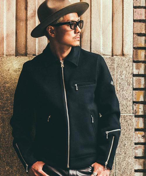 日本製 【セール RIDERS】HEAVY MELTON RIDERS MELTON JACKET(ライダースジャケット)|CRIMIE(クライミー)のファッション通販, 芝山町:c0bd72f5 --- blog.buypower.ng