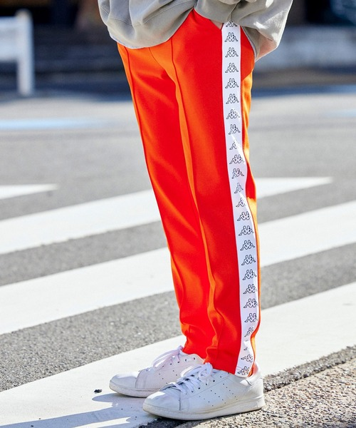 ▽WEB限定 Kappa/カッパ 別注 サイドラインパンツ/トラックパンツ