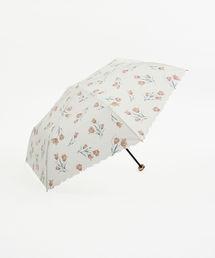 Cocoonist(コクーニスト)のチューリップ柄折りたたみ傘 雨傘(折りたたみ傘)