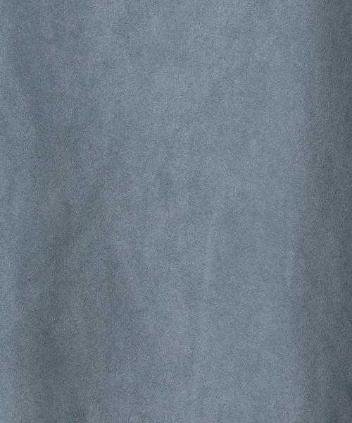 ESTNATION(エストネーション)の「ESTNATION / スエードランダムヘムスカート(スカート)」|詳細画像