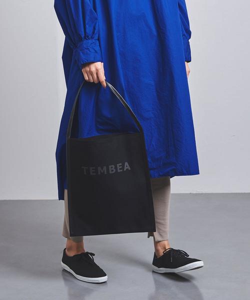 【一部別注】<TEMBEA(テンベア)>ビッグロゴ トートバッグ†