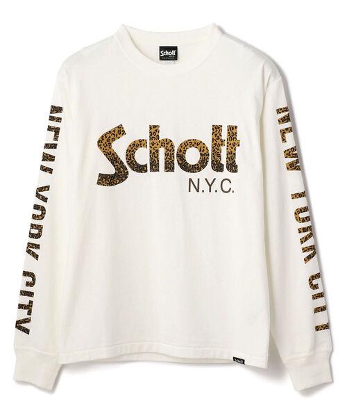Schott/ショット/SCHOTT LOGO LONGSLEEVE T-SHIRT