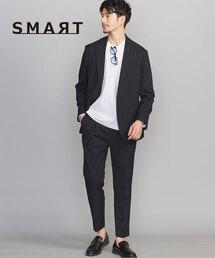 【WEB限定 WARDROBE SMART】 by LANATEC セットアップ/ジャケット&イージーパンツ