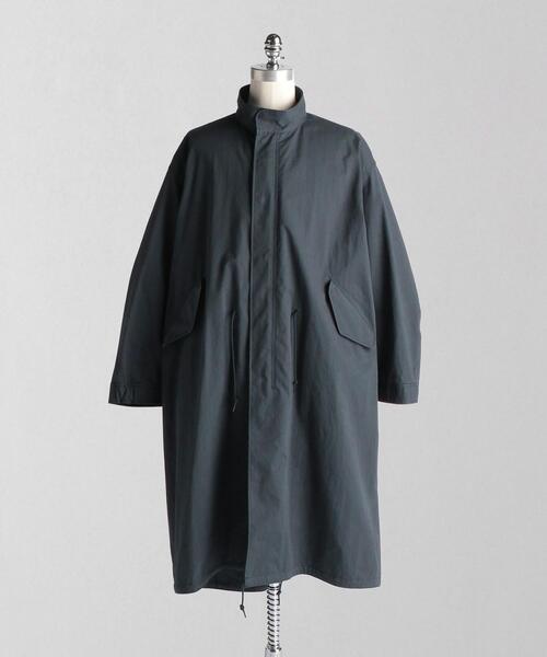 <LOEFF(ロエフ)>OX スタンドカラー モッズコート UNISEX