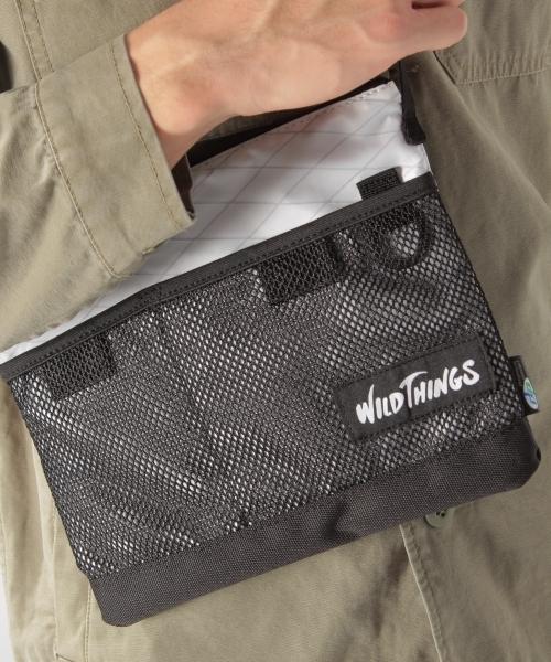 【WILD THINGS(ワイルドシングス)】SACOCHE BAG  サコッシュバッグ