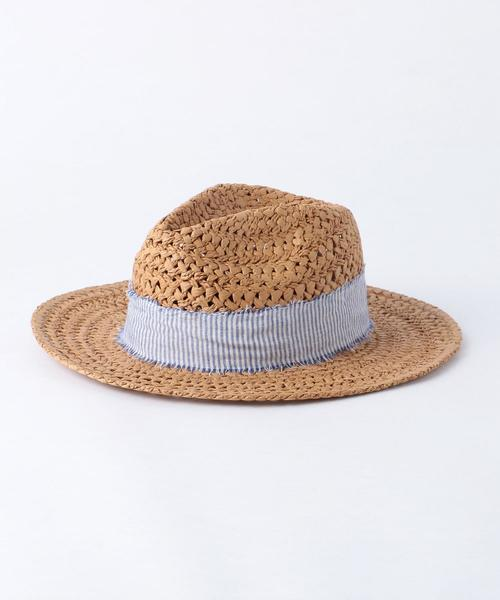 <HAT ATTACK>CANE WEAVE RANCHERハット о