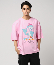 [ DRAGON BALL ] ブルマプリントオーバーサイズTシャツ [ オーバーサイズ ](Tシャツ/カットソー)