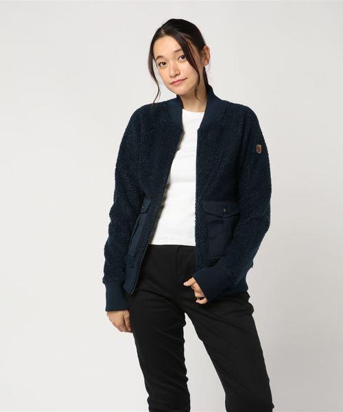 【日本限定モデル】 Greenland Fleece Pile Fleece W (FJALLRAVEN/フェールラーベン)(ブルゾン)|FJALL RAVEN バイ by (フェールラーベン)のファッション通販, en-nui:b4d04cf3 --- hausundgartentipps.de