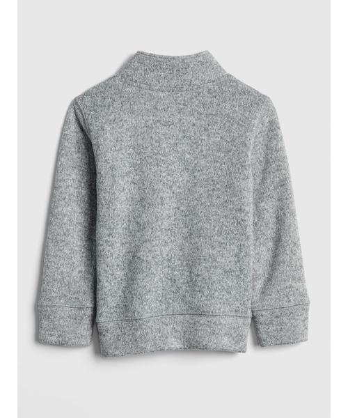 クオーターファスナー セーター