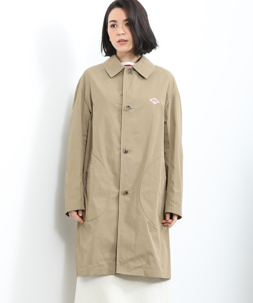 【DANTON】POCKET DOUBLE CLOTH COAT