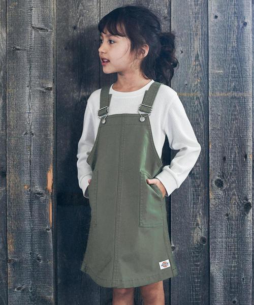 【キッズ】DICKIES(ディッキーズ)オーバーオールスカート