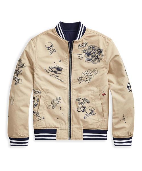 40ec2bd1450dd Polo Ralph Lauren Childrenswear(ポロ キッズ)のリバーシブル コットン チノ ジャケット(その他アウター